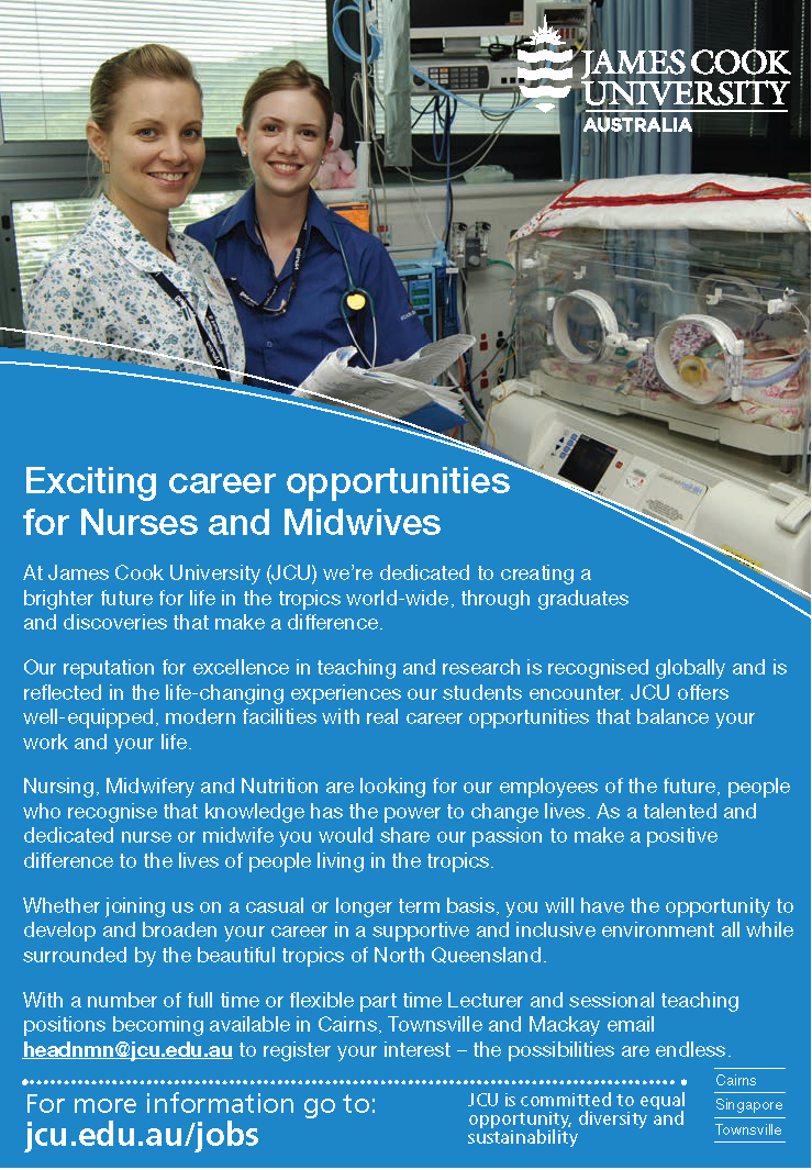 JCU College of Healthcare Sciences: Exciting career