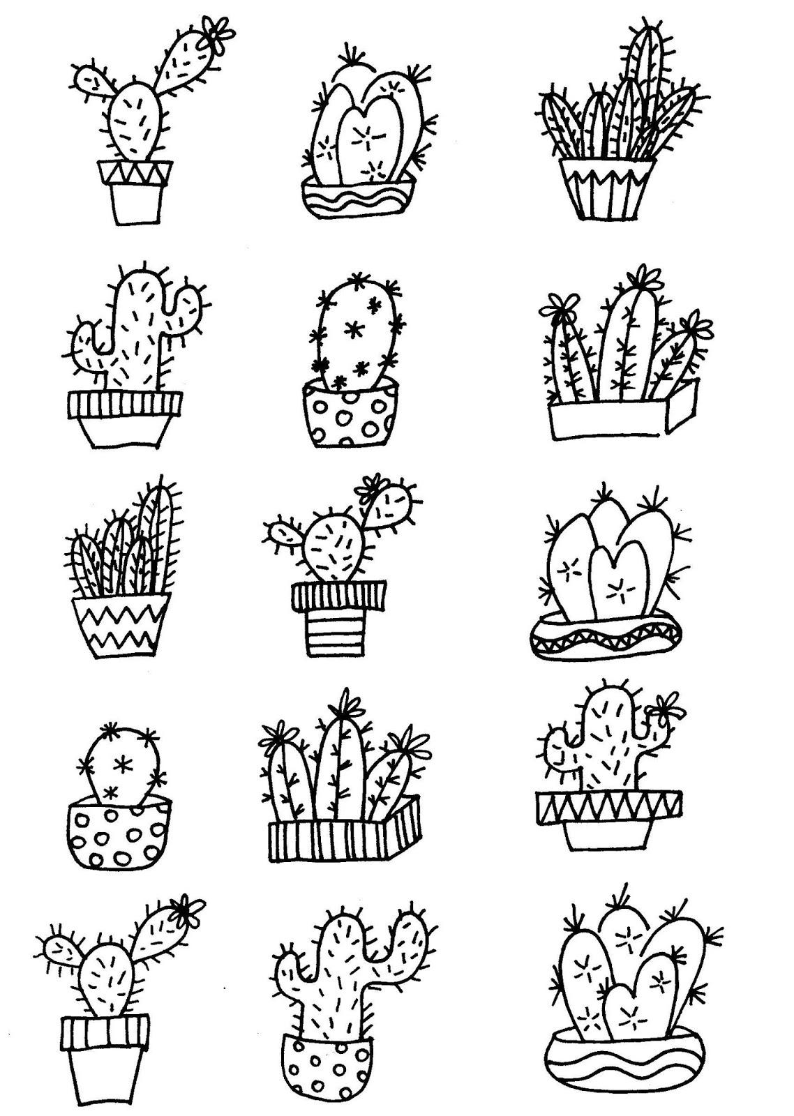 Ungewöhnlich Kaktus Malvorlagen Zum Ausdrucken Fotos - Entry Level ...