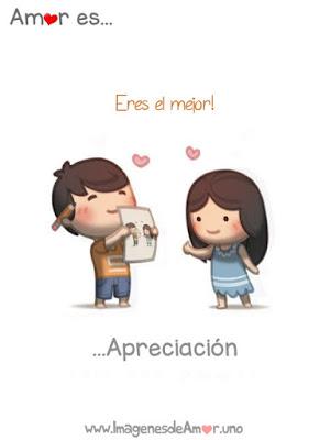 carteles de amor sobre apreciación