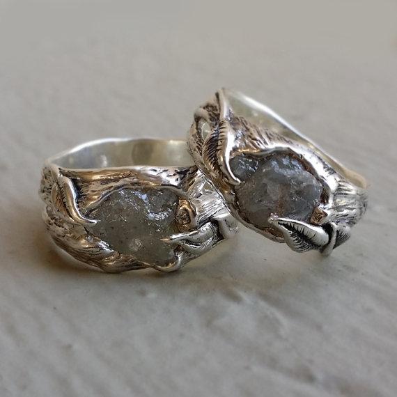 Dawn Vertrees Raw Uncut Rough Engagement Wedding Rings ...