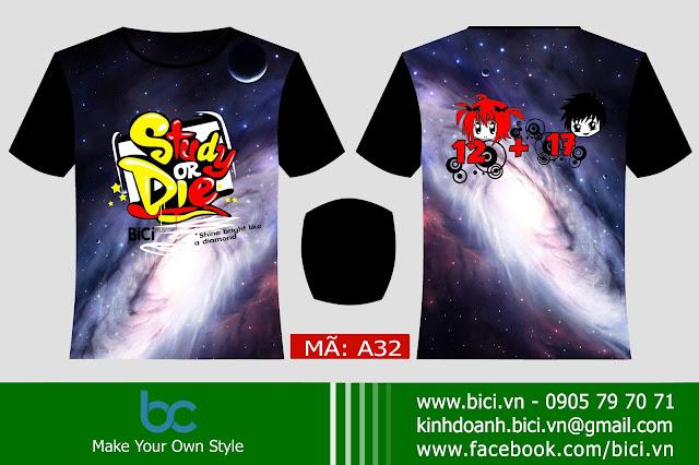 áo galaxy 3D