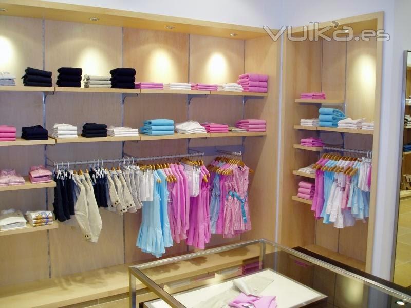 Decora o de interiores loja de roupas infantis del for Decoracion de interiores locales de ropa