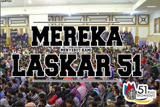 Maba UB 2013, Laskar 51