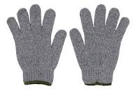 ถุงมือผ้าเกรด A