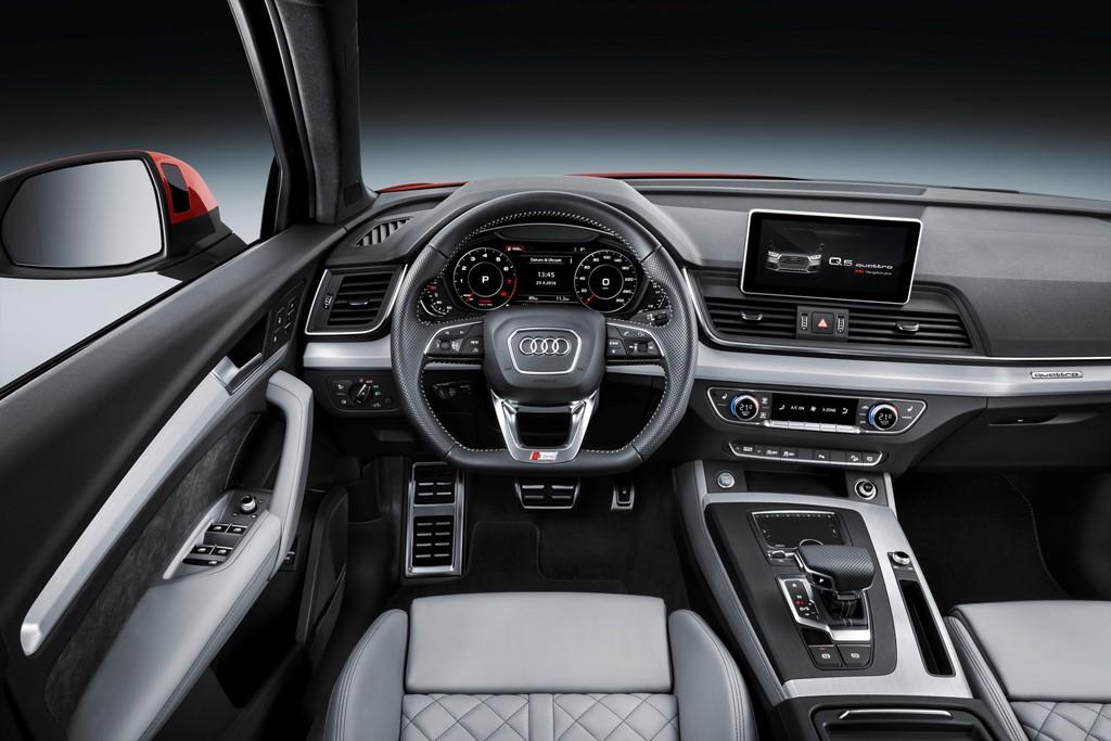Nội thật Audi Q5 2018
