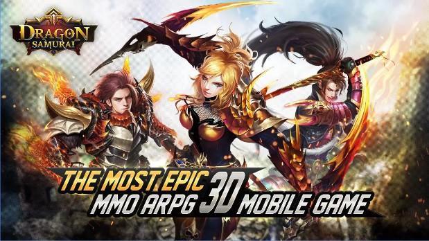 Dragon Samurai apk - Game hành động cực chất trên Mobile