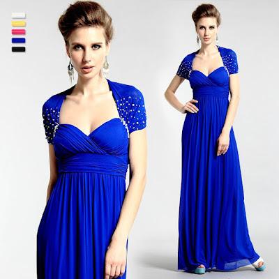 vestido semi formal para mujer