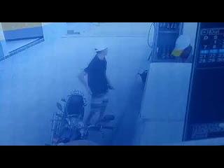 Vídeo mostra assalto a posto de combustíveis no distrito de Sangradouro