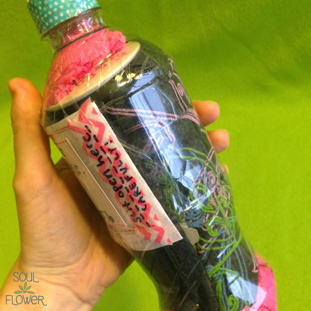 22 less than 13 oz mail - 13 Oz or Less - A Recycled Bottle Mailer DIY