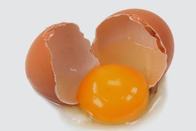 trứng gà giúp trị rụng tóc