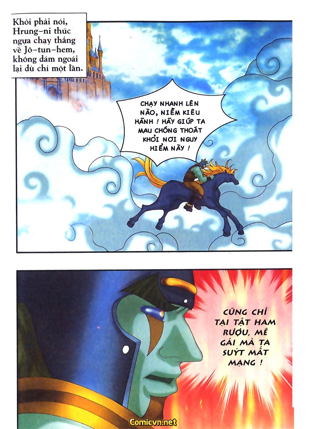 Thần thoại Bắc Âu - Chapter 31: Trận chiến không cân sức - Pic 10