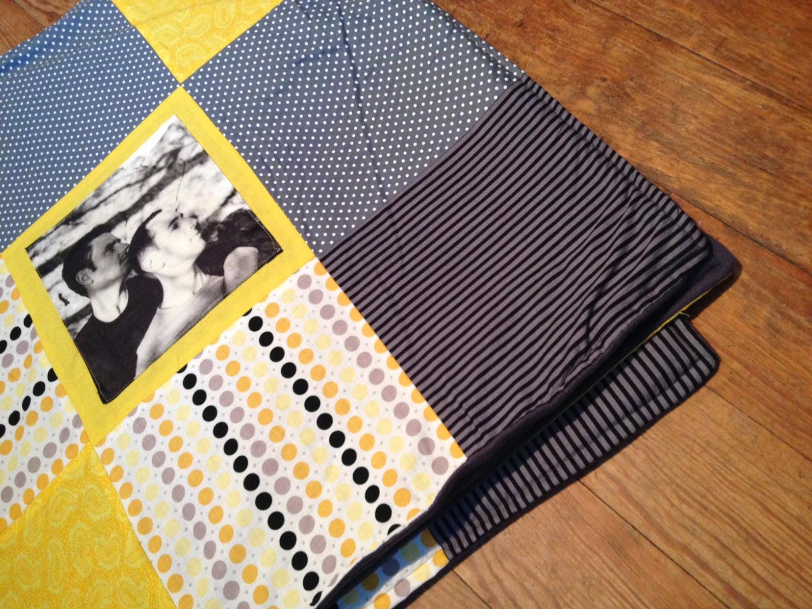 ich mag schischi patchwork decke mit fotos. Black Bedroom Furniture Sets. Home Design Ideas