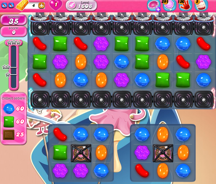 Candy Crush Saga 1608
