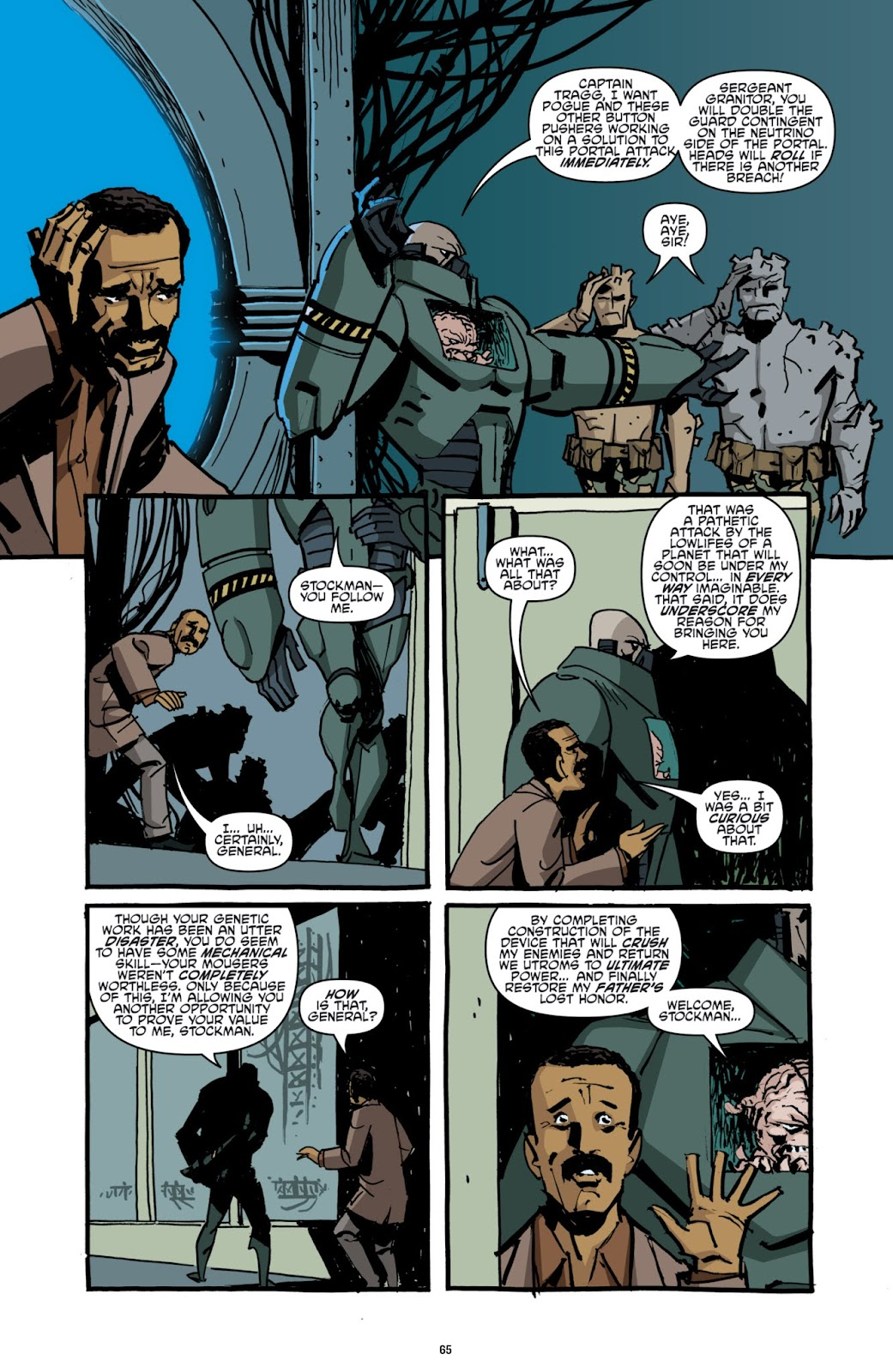 Read online Teenage Mutant Ninja Turtles: The IDW Collection comic -  Issue # TPB 2 (Part 1) - 65
