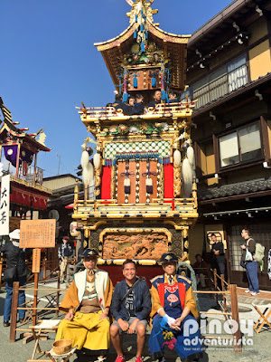 Takayama Autumn Festival in Gifu Japan