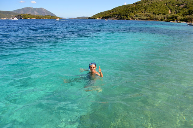 Meganisi, islas jónicas, Grecia