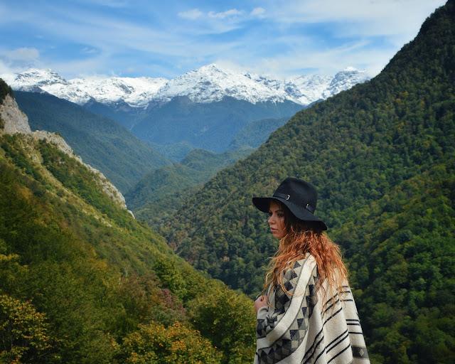 самый красивые места в грузии