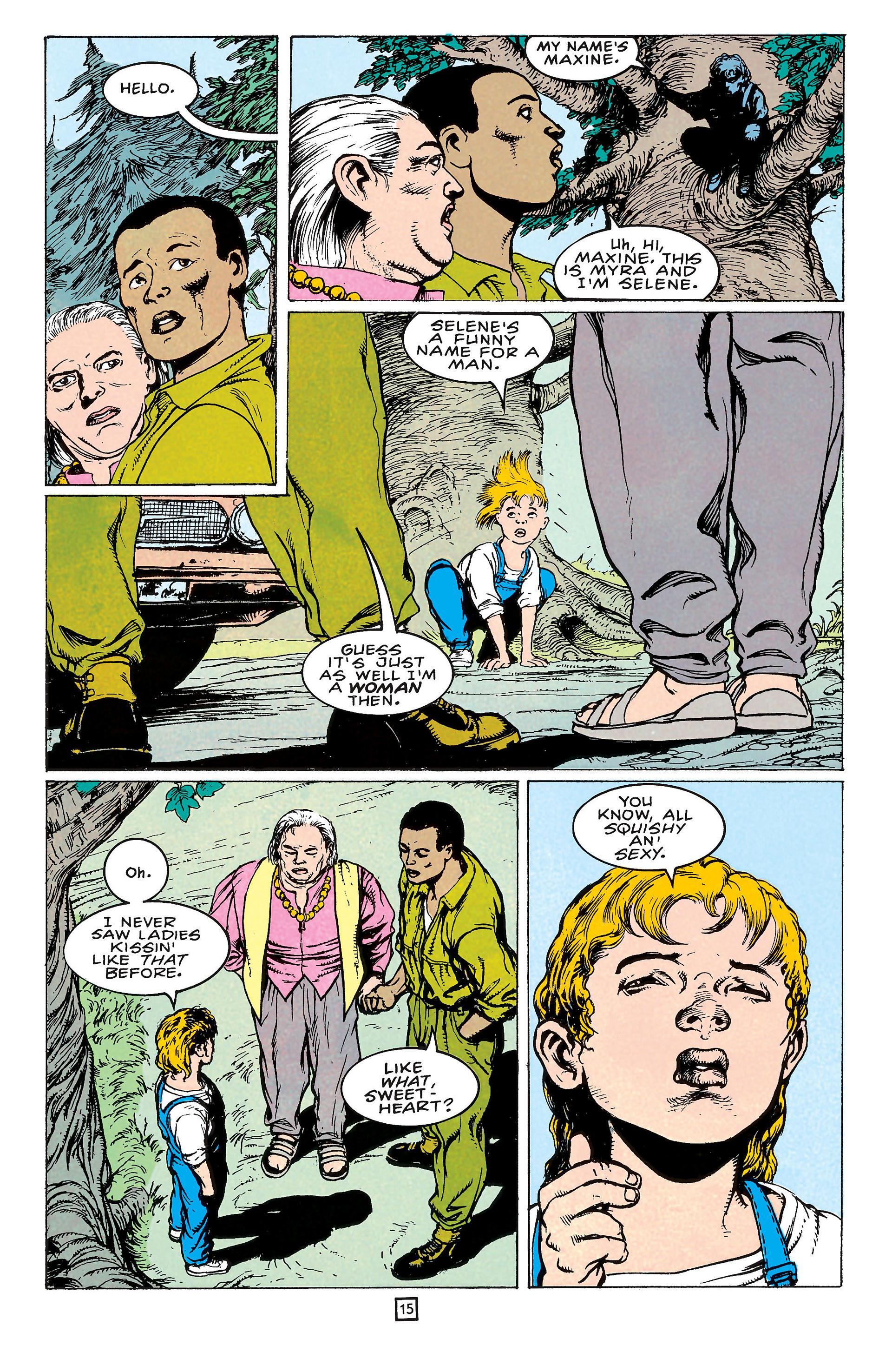 Read online Animal Man (1988) comic -  Issue #65 - 15