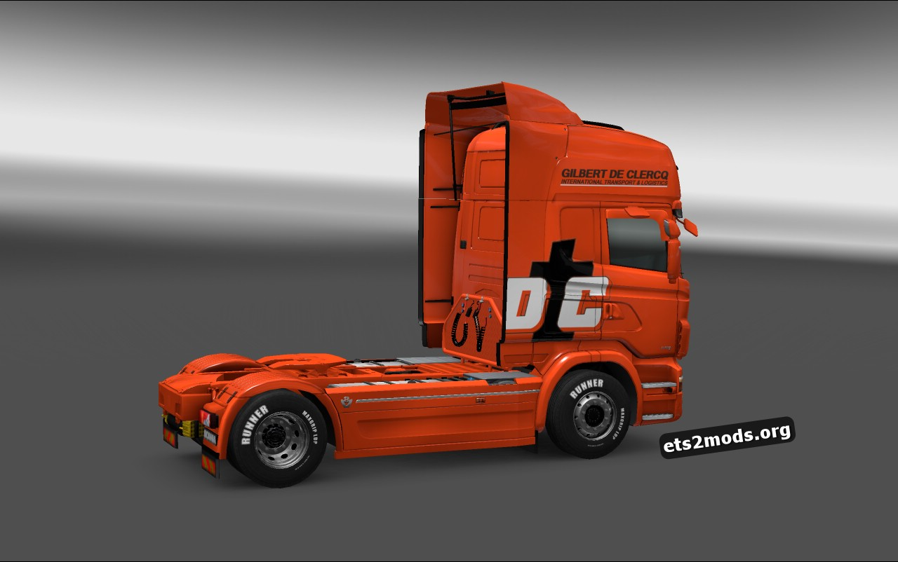 Gilbert de Clercq Skin for Scania RJL