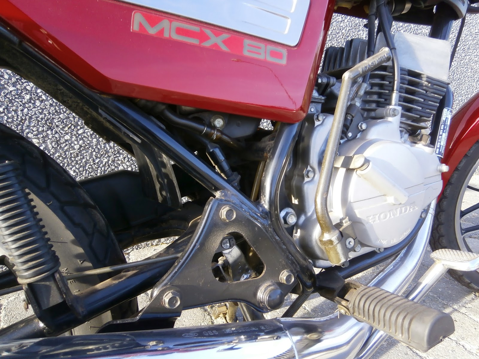 Honda mbx80 honda mcx80 for Honda financial services mailing address