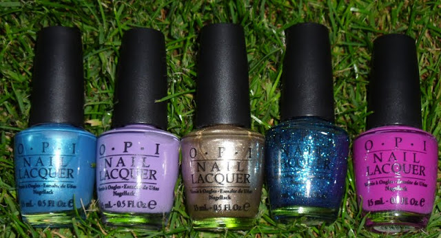 My Top 10 Favourite OPI Nail Polishes