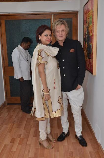(L-R) Julie Deb, Rohit Bal