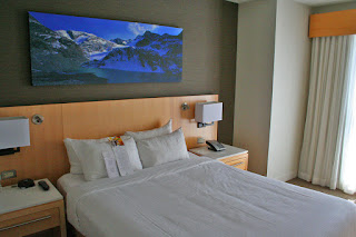 Master bedroom, Delta Whistler Village Suite