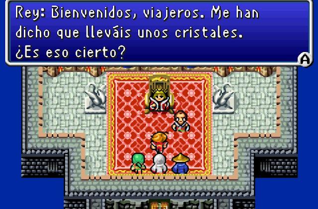 Final Fantasy I & II: Dawn of Souls - Español - Captura 1