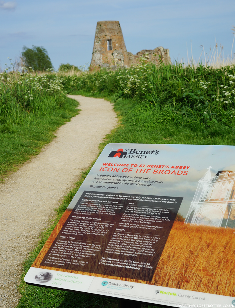 Ruins of St Benet's Abbey