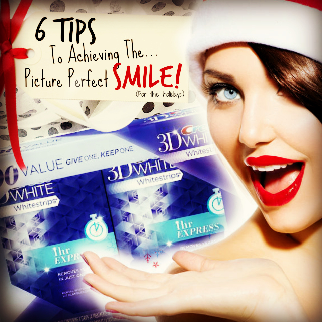 6 Tips To Achieving The Picture Perfect Smile - A Crest 3D Whitestrips Review, By Beauty Blogger Barbie's Beauty Bits.