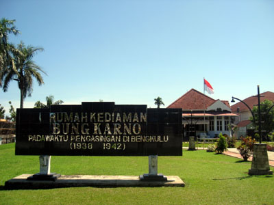 Rumah Soekarno bengkulu