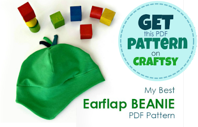 Make a perfect Earflap Beanie Hat! Would you like to add a pop of color to your kids' wardrobe AND let them stay WARM outdoors? This perfect 8-sizes earflap beanie pattern is 33% off just now!