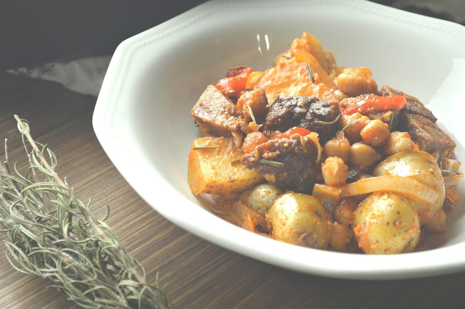Mute food seit n al romero al horno preparaci n 15 min for Cocinar seitan