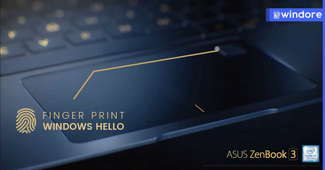 Finger Print Untuk Masuk Windows 10 Zenbook UX390