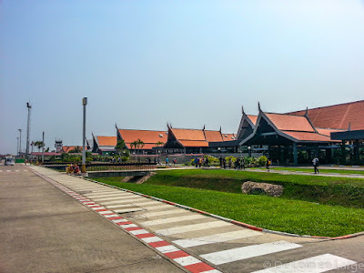 Aéroport de Siem Reap - Cambodge