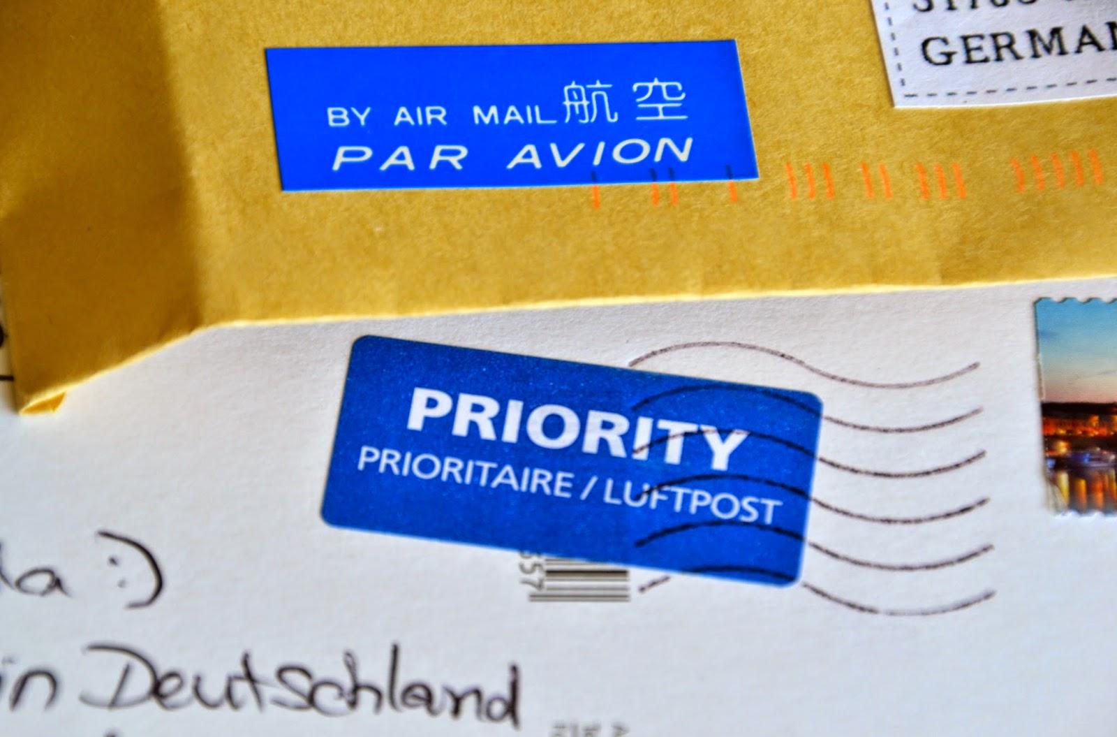 intercambio internacional postales navideñas