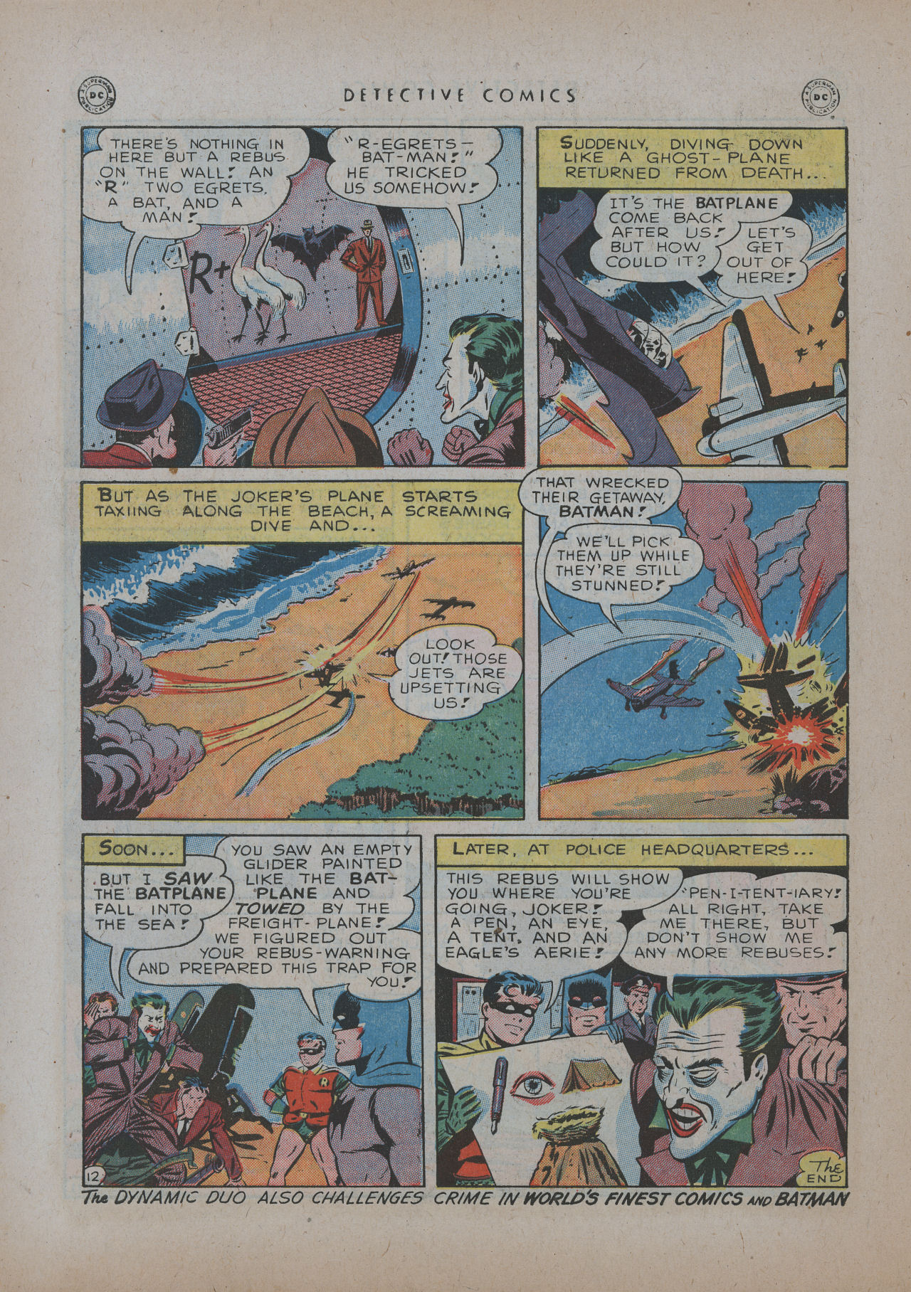 Read online Detective Comics (1937) comic -  Issue #137 - 14