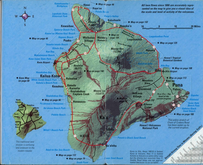 Maps Big Island Hi