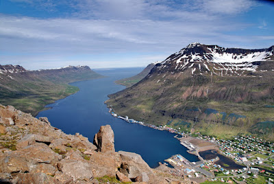 Le fjord de Seyðisfjörður