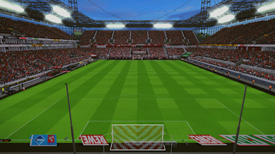 PES 2017 Rhein Energie Stadium