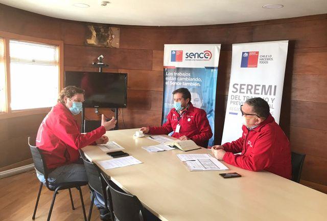 Francisco Muñoz, Sergio Haeger y Fernando Gebhard