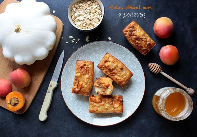 cake miel abricot et patisson