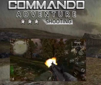 Download Commando Adventure Shooting v 5 Apk + Mod for android