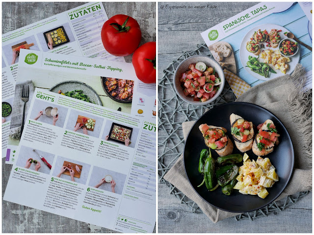 "HelloFresh Kochbox ""Leichter Genuss"""