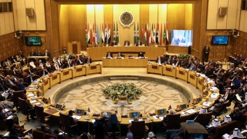 Cuộc họp khẩn tối qua của các thành viên Liên đoàn Arab ở Cairo, Ai Cập. Ảnh: Reuters.