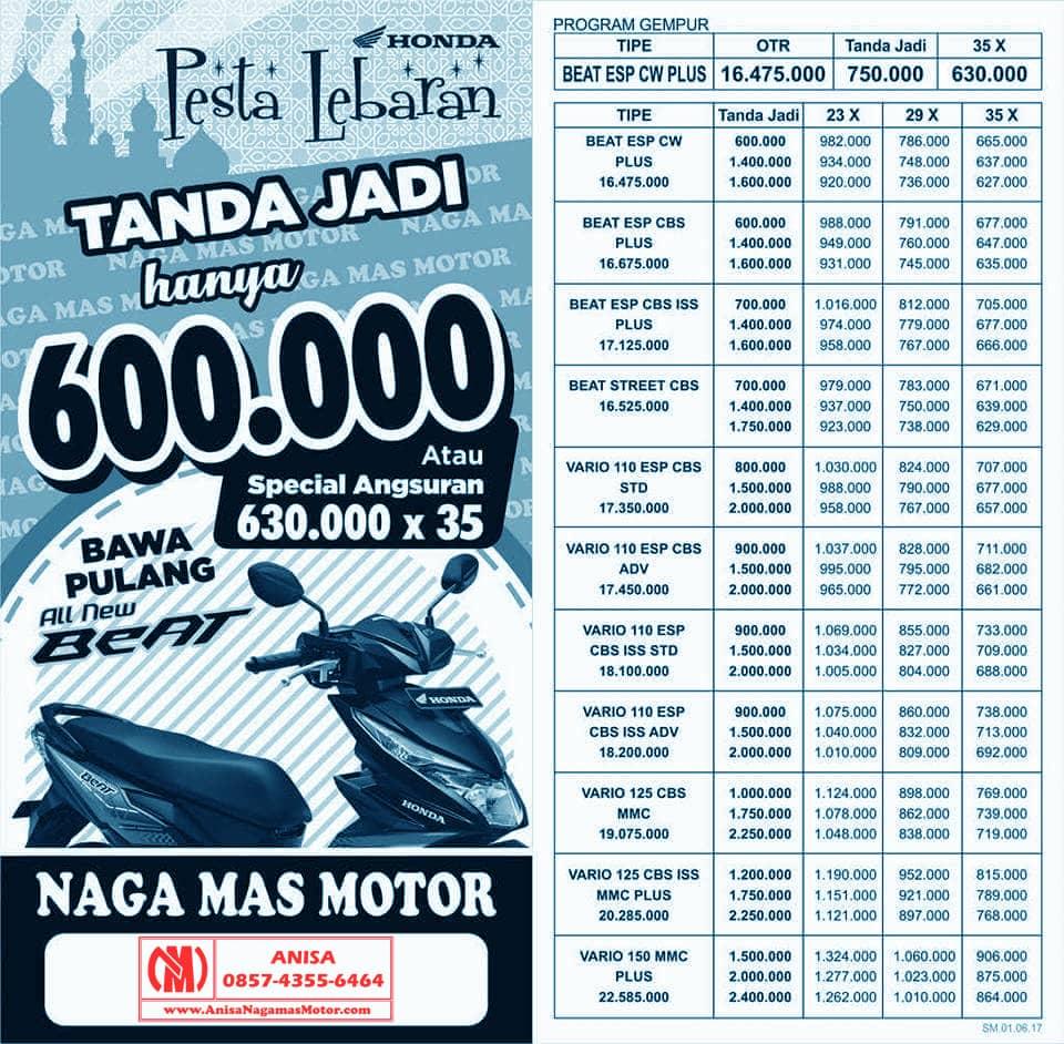 Anisa Counter Sales Dealer Nagamas Motor Klaten New Vario 110 Esp Cbs Iss Advanced Matte Grey Brebes Promo Juni Pesta Lebaran 2017