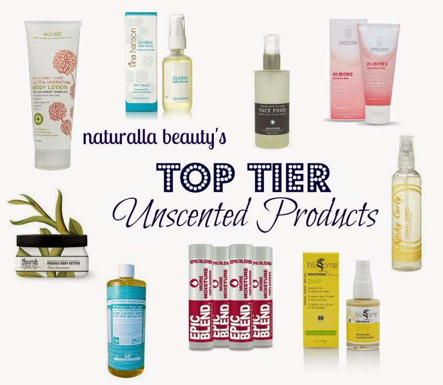 My Favorite Unscented Delights