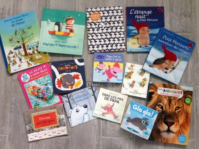    Table des saisons : L'hiver - Sélection de livres
