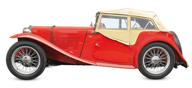 MG_TC_1935, Classic Cars