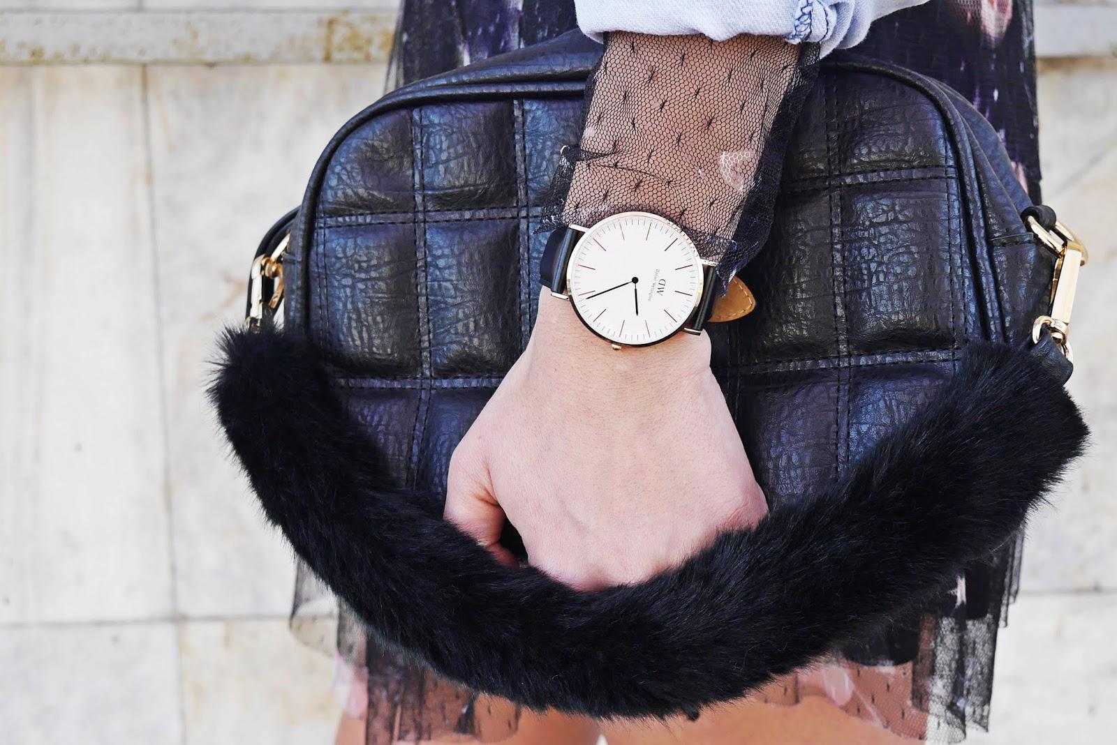 daniel wellington zegarek torebka bonprix karyn blog modowy